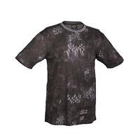 Mil-Tec Short Sleeve Military Army Camouflage Krypek T-Shirt Mandra Night Camo
