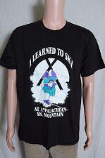 VTG 1990s I learned to ski at Appalachian Ski Mountain black tourist t shirt L