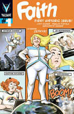 Faith #1 out of the pages of Harbinger 5 Variant Covers 1:10 & 1:20 Valiant 2016