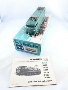 MARKLIN HO locomotive électrique SNCF BB 9223 réf. 3038
