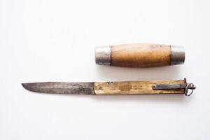 Swedish Vintage Original Edgren Eskilstuna Eskiltuna Sweden Barrel Pocket Knife