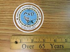 PSD PRODUCT SUPPORT DIRECTORATE NORTH ISLAND STICKER