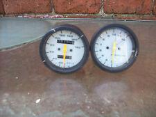 suzuki rg 250 / gamma speedo clocks speedometer instrument gauges barn find