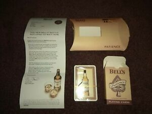 Bells Whisky Patience Playing Cards,Limited Edition,New Sealed 2006 Collectable