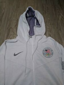 Nike Team USA Olympic 2020 Zip Up Jacket XL Unreleased RARE America Space Hippie