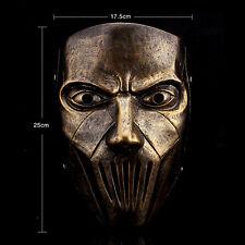 Bronze Resin Slipknot Band Mick Thomson Movie Mask Halloween Party Costume Prop