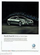 PUBLICITE ADVERTISING 016  2008  Volkswagen la nouvelle Passat CC