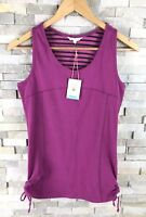 New White Stuff Ladies Size 12 Runabout Vest Top Purple RRP £25
