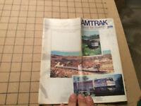 1990 through October 27 AMTRAK National Train Timetables April 1 1990 Vintage