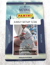 2015 National Sports Collectors Convention Badge Ryan Howard PHILLIES Prizm