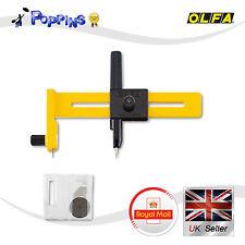 Olfa Cmp-1 Brújula Circle Cutter cmp1 + 5 Cuchillas Cob-1 Reino Unido Stock