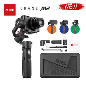 ZHIYUN Crane M2 3-Axis Gimbal Handheld Stabilizer For Gopro Action Camera Phones
