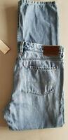 TOMMY BAHAMA Men Standard Fit Stretch Cotton Denim Jean - 36x34 Light Blue