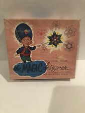 VTG Hoot Nanny or The Magic Designer Complete w/ Instructions & Original Papers