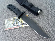 Pioneer Sharp assault jungle rescue camping bowie survival hunting knife FK373