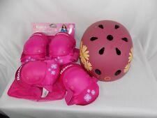 Razor Youth Small Child Elbow & Knee Pads & Medium Razor Bike Helmet Safety Set