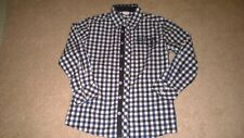 Vertbaudet Boys Checked Shirt Age 10