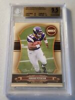 2007  DONRUSS CLASSICS  ADRIAN PETERSON ROOKIE CARD BGS 9.5 * GEM-MT * 464/599 *