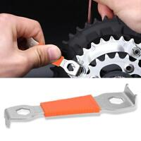 Bike Chain Bolt Fixed Wrench Bicycle Repair Tool Crank Spanner Carbon Steel
