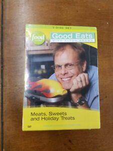 Good Eats w/Alton Brown: All Season Edibles (3-DVDSet) new