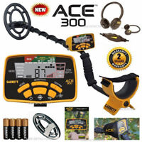 Garrett ACE 300 Metal Detector With FREE HEADPHONES + COIL COVER &  MORE !