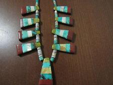Vintage Signed RAY TAFOYA Navajo  Necklace