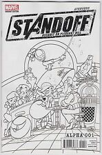 Avengers Standoff Assault On Pleasant Hill #1 NM 9.4 Party Sketch Variant!