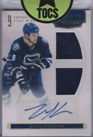 Zack Kassian 2011-12 Panini Rookie Treasures Dual Jersey Auto 149/499 Canucks