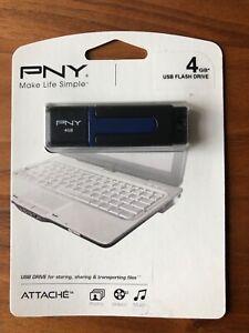 Brand New PNY 4GB USB Flash Drive (Attaché)