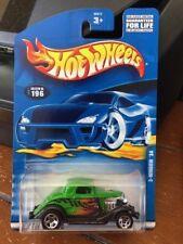 2001 Hot Wheels 3-Window '34 #196