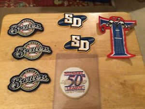 vintage baseball patches lot