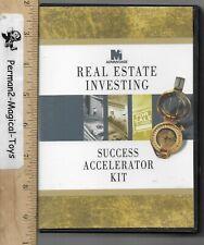 4CD SET,2004 -REAL ESTATE INVESTING- SUCCESS ACCELERATOR KIT
