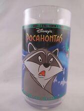Meeko & Flit ~ Plastic Glass ~ Disney's Pocahontas ~ Coke ~ Burger King
