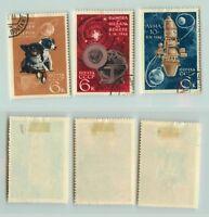 Russia USSR, 1966 SC 3223-3225 used. f5226