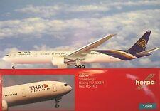 Herpa Wings 1:500 Boeing 777-300ER Thai Airways HS-TKU 528344  Modellairport500