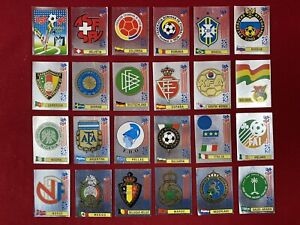 Panini World Cup USA 94 Mexico Edition Holanda Complete Badges Stickers Set