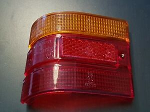 FORD TAUNUS 12M15M P6 TURNIER 1966-70 TAIL LIGHT LENS LH NEW OLD STOCK!  801593