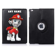 Paw Patrol 06 Name Personalised iPad 360 Rotating Case Cover Birthday Present
