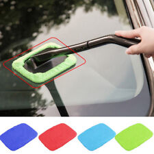 Windshield Cleaner Microfiber Glass Wiper Cleaning Kit Car Window Clean Brush