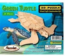 Holzbausatz Meeresschildkröte - 3D Puzzle