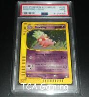 PSA 9 MINT Slowking H22/H32 Aquapolis HOLO RARE Pokemon Card