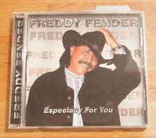 FREDDY FENDER Especially For You CD Hacienda Records HAC-7662 Tex-Mex