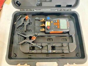 Testo 550 Digital Manifold Unit