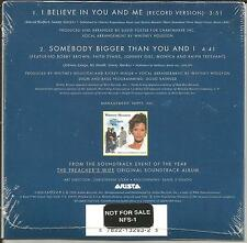 WHITNEY HOUSTON I believe in you RARE PROMO STICKERED VERSION CD Single SEALED