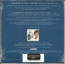 WHITNEY HOUSTON I believe in you RARE PROMO STICKERED VERSION CD Single SEALED