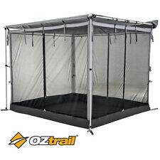 OZTRAIL RV MESH ROOM Shade Awning Wall 2.4 x 2.0m Tent Screen