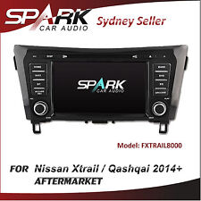 "8"" AFTERMARKET GPS DVD SAT NAV BT NAVIGATION FOR NISSAN XTRAIL QASHQAI 2014+"
