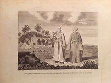Mammalucco Egiziano divisa militare acquaforte 1817 Cooke EGITTO vestito