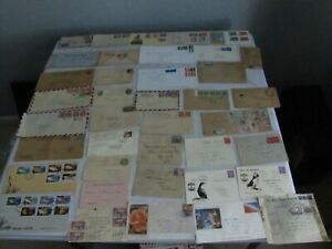 Huge 1920-1990's Great Britain & GB Commonwealth 450+ Piece Postal History Lot