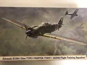 1/48 Hasegawa Kawasaki Ki100-I Otsu Type 5 TONY Akeno Training Squad Model Kit
